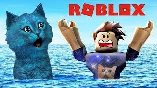 РОБЛОКС НАВОДНЕНИЕ убегаем от воды Roblox Flood Escape КОТЁНОК ЛАЙК игра