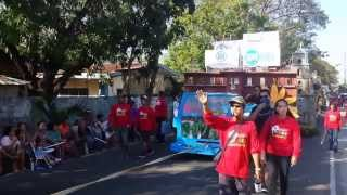 Champion of the Big Float Competition - 2014 Laoag City Fiesta / Pamulinawen Festival