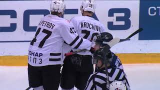 Огурцов и Куликов атакуют Кравцова