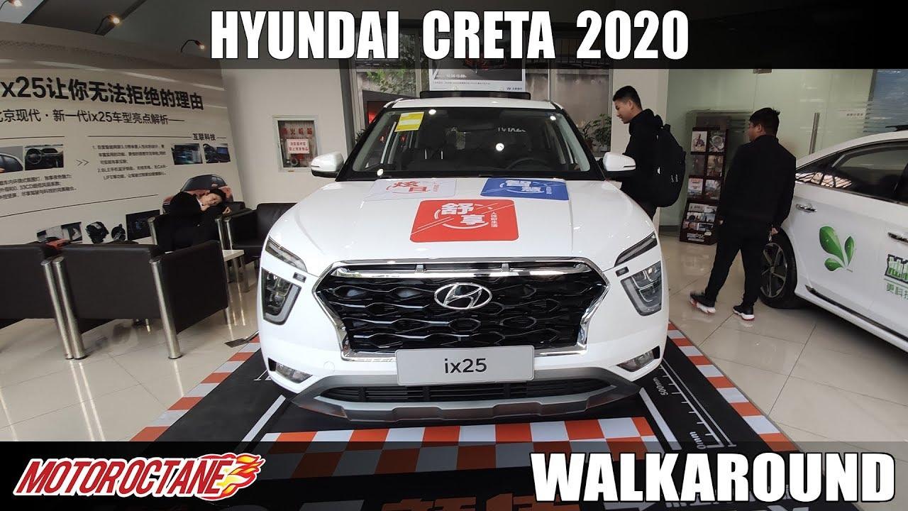 Motoroctane Youtube Video - Hyundai Creta 2020 Walkaround | Exclusive | Hindi | MotorOctane