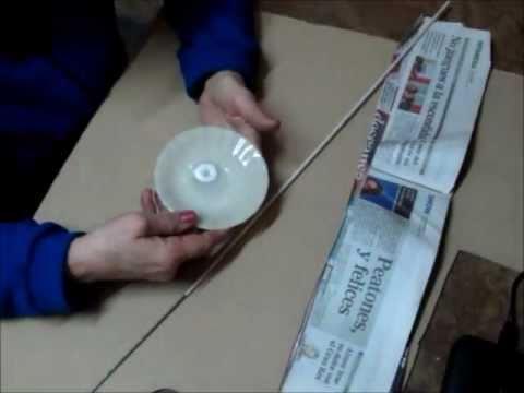 Manualidades y creaciones paso a paso canastitos con la - Cesteria con papel periodico paso a paso ...