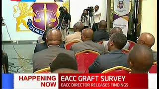 MOST CORRUPT: Interior Ministry leads as most corrupt according to the EACC Graft Survey 2018