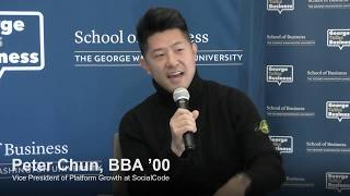 video - George Talks Business with Peter Chun