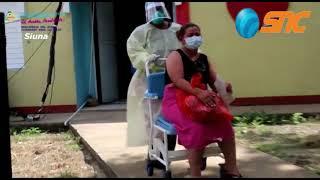 Entrega de Alimentos en hospital de Siuna