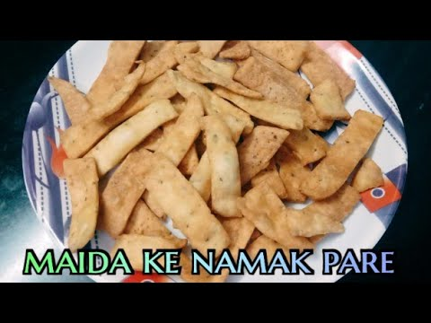 maida ke namak Pare | in Hindi recipe by cooking with mintu ji