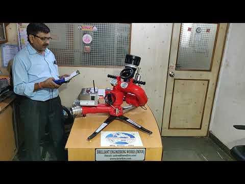 Portable Remote Control Fire Water Monitor