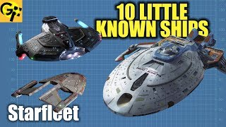 10 Little Known Starfleet Ships (Star Trek)
