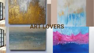 DIY Decorating Ideas - Decorative Painting, Abstract Art Store, Floral Art, Shopify Paintings