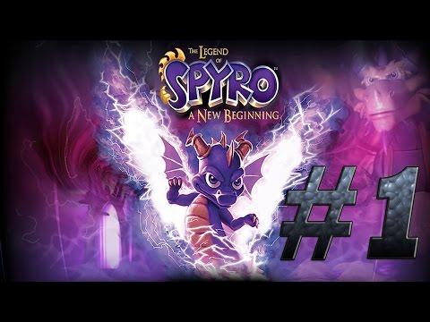Прохождение The Legend of Spyro: A New Beginning - #1 - Новое начало