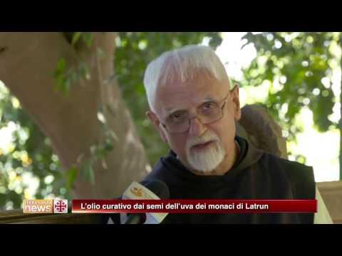L'olio curativo dai semi dell'uva dei monaci di Latrun