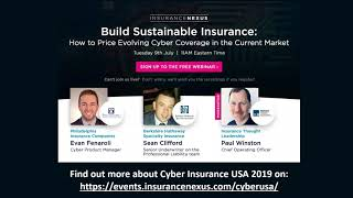 Build Sustainable Insurance  How to Price Evolving Cyber Coverage