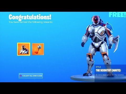 *NEW* Encrypted WHITE Visitor Skin..! (How To UNLOCK Free Style) Fortnite Battle Royale