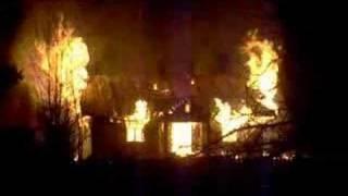 preview picture of video 'Rymanów pożar domu'