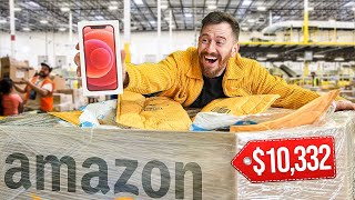 I Bought $10,332 Worth of UNOPENED Amazon Packages and found this.. (IPHONE & SAMSUNG GALAXY)