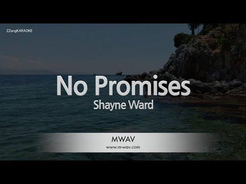 Shayne Ward-No Promises (Melody) [ZZang KARAOKE]
