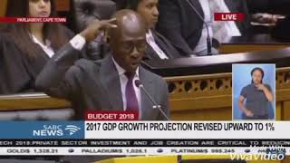 Minister Gigaba Quotes Kendrick Lamar - We Goin Be Alright!
