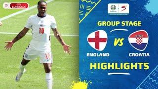 UEFA Euro 2020 | Group D | England v Croatia | Highlights