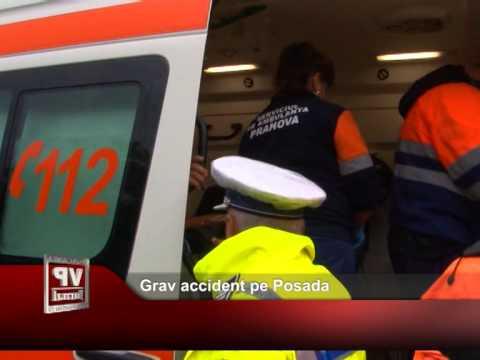 Grav accident pe Posada