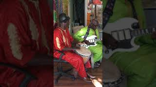 Synergy - When Grandmaster Djembefola Bolokada Conde Jams with Master Guitarist Mamady Kouyate - If