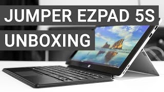 Jumper EZpad 5s: Surface Klon Unboxing + Erster Eindruck | Deutsch