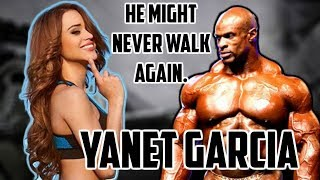 Yanet Garcia Drama Exposed! Ronnie Coleman Might Never Walk Again?