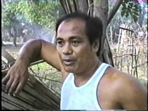 Na idinagdag sa tubig upang iwanan ang mga parasito