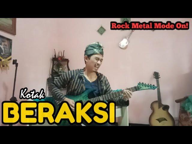 INSTRUMENTAL GITAR LAGU BERAKSI JAVA ROCKESTRA    LIVE GUITAR SOLO