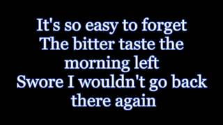 You and Tequila HD- Kenny Chesney ft. Grace Potter (with lyrics)