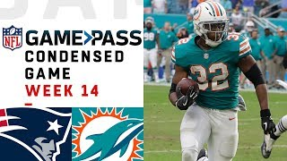 Patriots vs. Dolphins | Week 14  NFL Game Pass Condensed Game of the Week