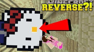 Minecraft: UPSIDE DOWN DROPPER!!! - ANTIDROPPER 2 - Custom Map [1]