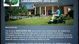 preview picture of video 'WEED EATER ONE - HUSQVARNA DEL PILAR - ARGENTINA'