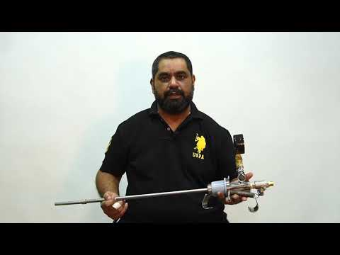 SS Liquid Nitrogen Withdrawal Device