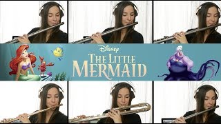 The Little Mermaid: Part of Your World on Flute + Sheet Music!