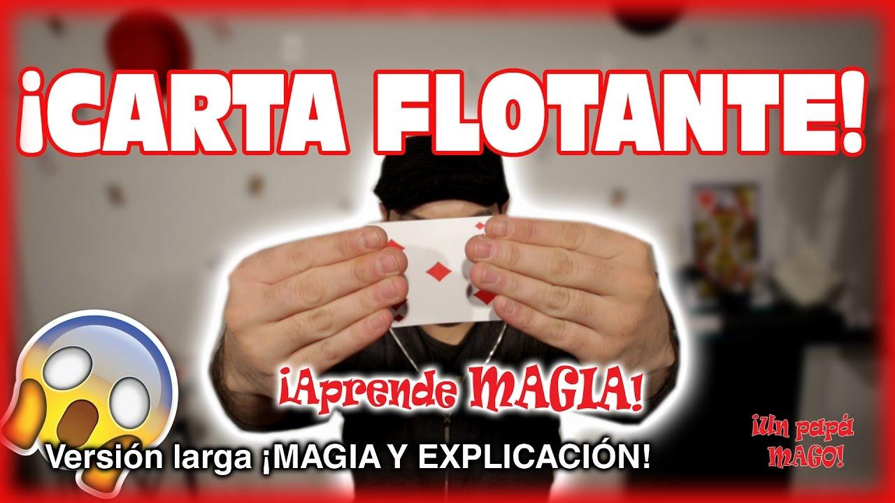 TRUCO DE MAGIA | CARTA FLOTANTE | APRENDE MAGIA | VERSIÓN EXTENDIDA