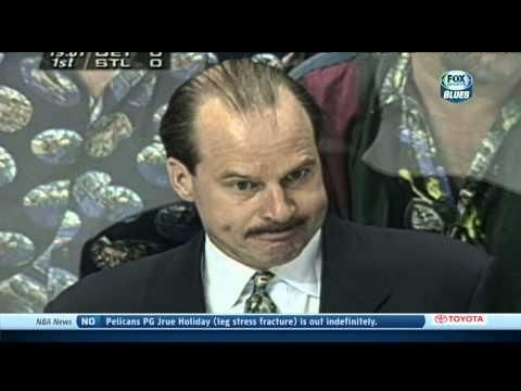 Brett Hull on the rodent Mike Keenan. St. Louis Blues 1/10/14 NHL Hockey
