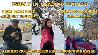 INDIA TO LAPLAND, FINLAND | CHEAPEST STAY IN HELSINKI | ARCTIC CIRCLE ROAD TRIP VLOG 1 | AURORA TRIP
