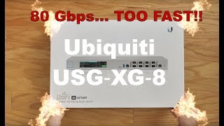 It Is Finally Arriving - Possibly The Best Router In Its Class ! The UniFi: USG-XG-8