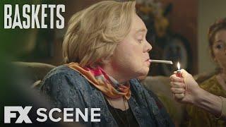 Baskets | Season 3 Ep. 6: Christine Smokes Scene | FX
