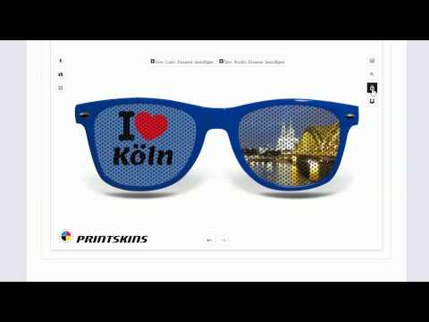 Sonnenbrille selber gestalten