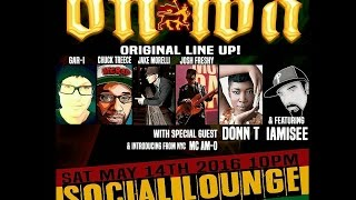 Donn T live at Social Lounge, West Chester