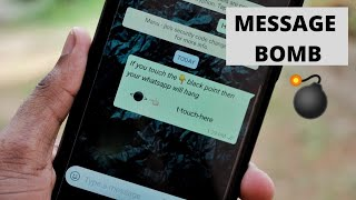 Whatsapp Black Dot Crashing Trick - Hidden Secret
