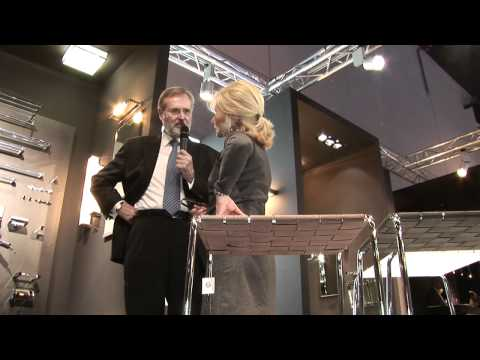 Reinhard Flötotto trifft...Decor Walther | Edelstahl Badaccessoires & Lampen - ISH 2011 Frankfurt