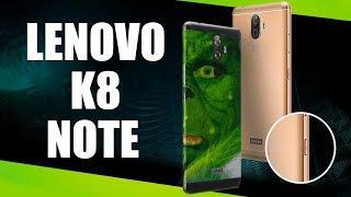 Lenovo K8 Note - Lenovo удивляет. Обзор