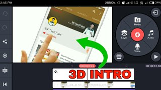 How To Make Subscribe And Bell Icon🔥|| Make 3D Animation Intro || SK TechTube