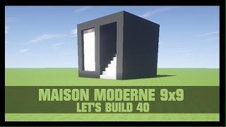 TUTO - COMMENT CONSTRUIRE UNE MAISON MODERNE 7X7 DANS MINECRAFT ...