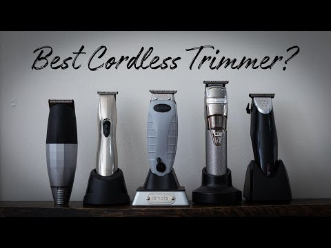 Best Cordless Trimmers 2018