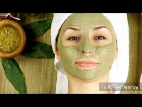 Laspirine et largile le masque pour la personne