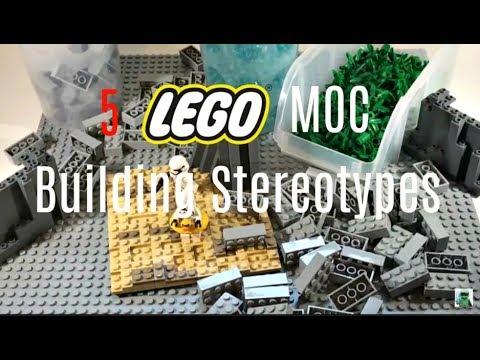 5 LEGO MOC Building Stereotypes