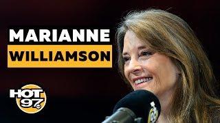 Author Marianne Wiliamson On Her 2020 Bid For President, Reparations, & Colin Kaepernick