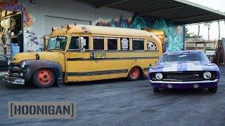[HOONIGAN] DT 192: Twin Turbo Short Bus & 800hp 69 Camaro